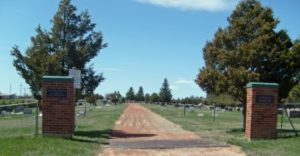 Entrance to Lutheran Cemetery